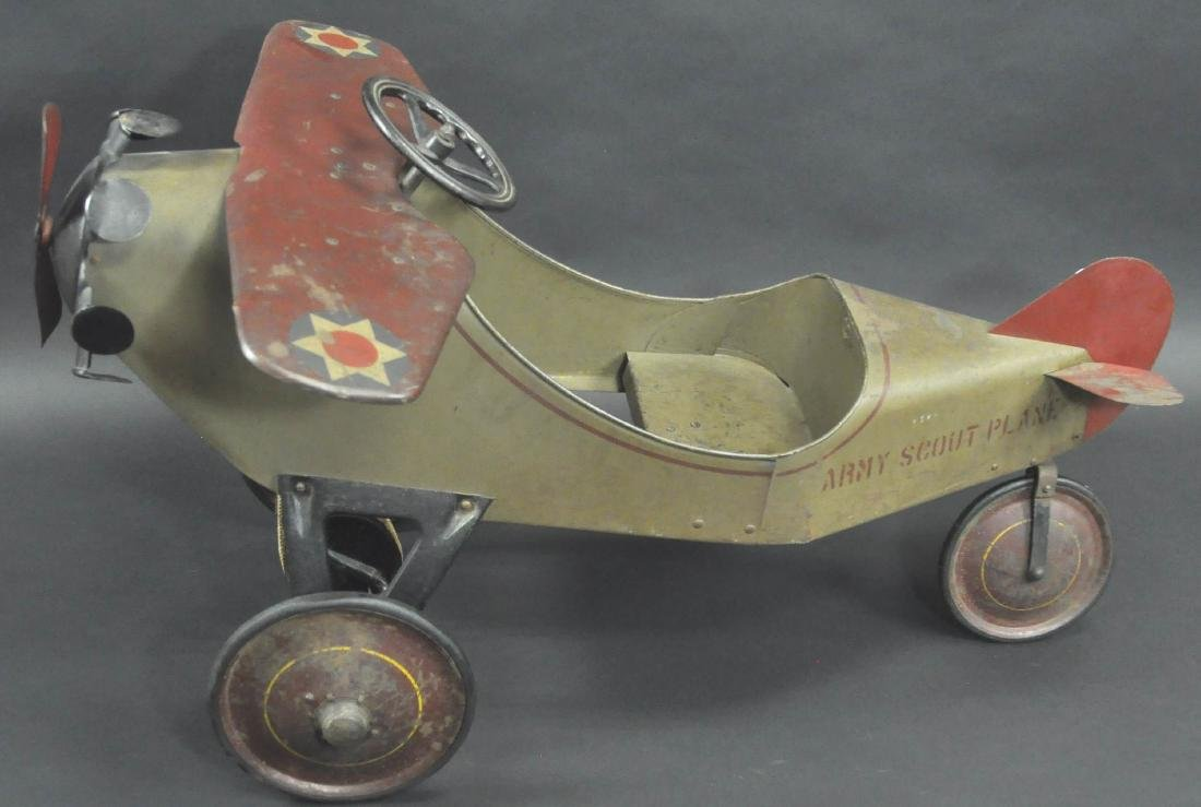 STEELCRAFT ARMY SCOUT PEDAL PLANE