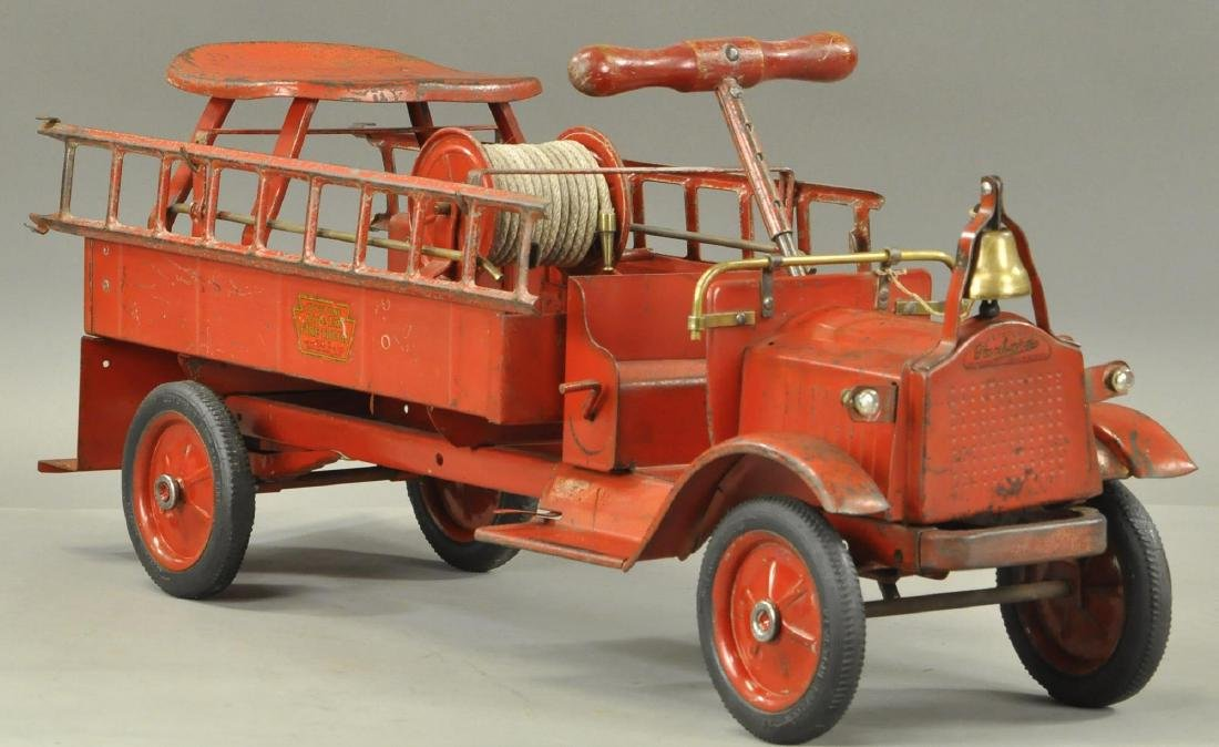KEYSTONE PACKARD FIRE LADDER RIDE-EM