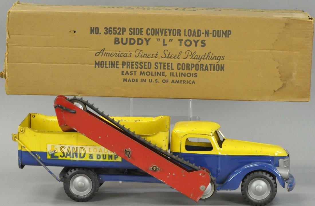 BUDDY L SAND LOADER AND DUMP