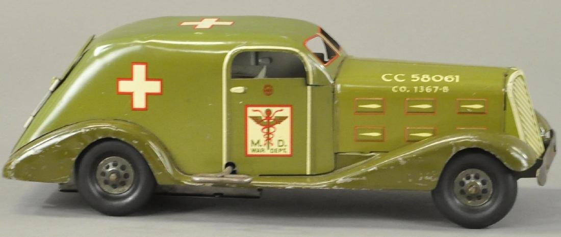 MARX ARMY MEDICAL CAR