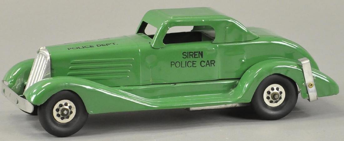 MARX SIREN POLICE CAR