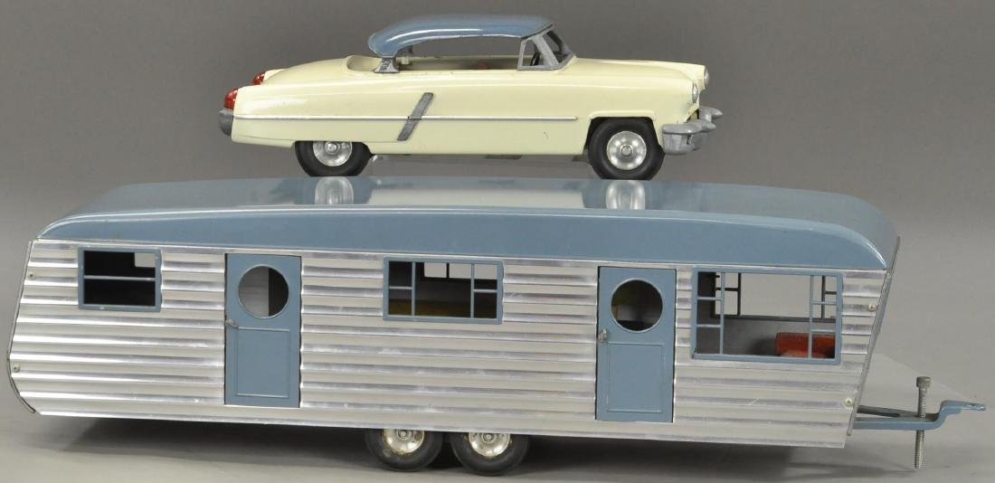 SMITH MILLER 1955 LINCOLN AND TRAILER