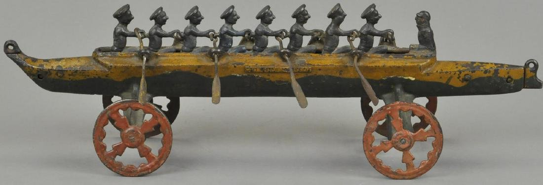 US HARDWARE EIGHT MAN RACING SCULL