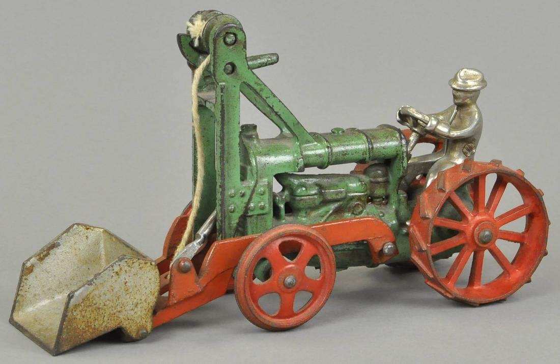 HUBLEY TRACTOR WITH SCOOP - 2