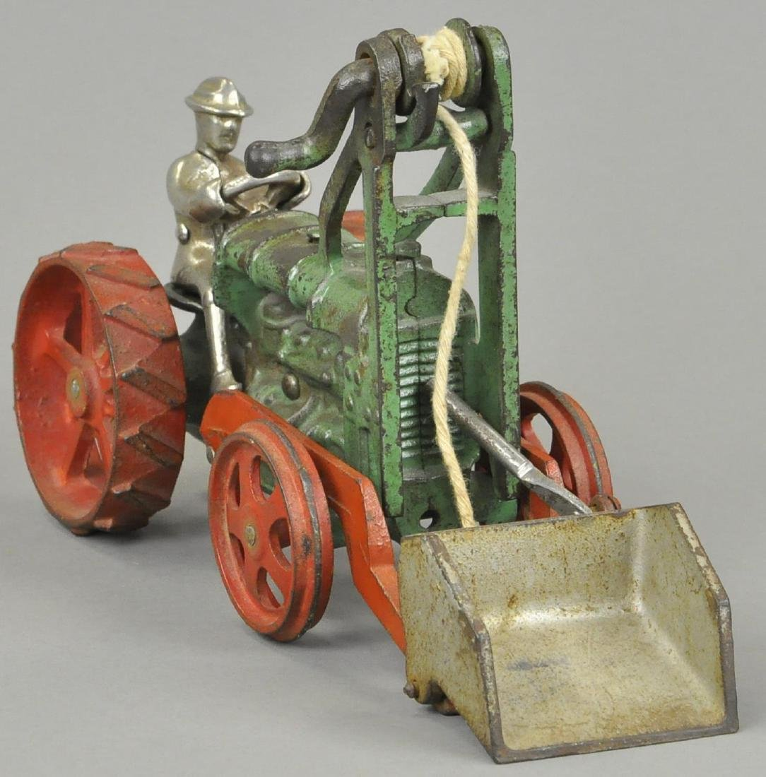 HUBLEY TRACTOR WITH SCOOP - 3