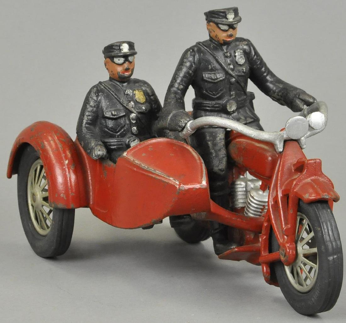 HUBLEY INDIAN COP CYCLE SIDECAR