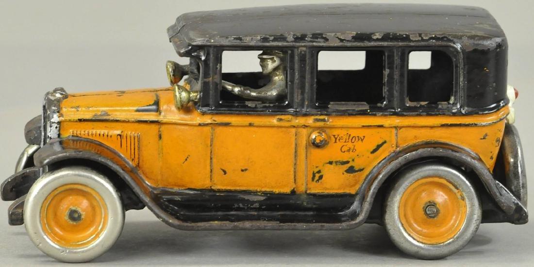 ARCADE FLAT TOP YELLOW CAB