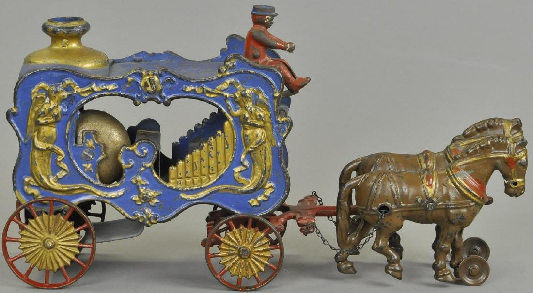 HUBLEY ROYAL CIRCUS MECHANICAL CALLIOPE WAGON
