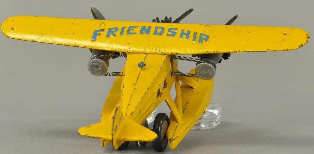 HUBLEY FRIENDSHIP TRI-MOTOR PONTOON AIRPLANE