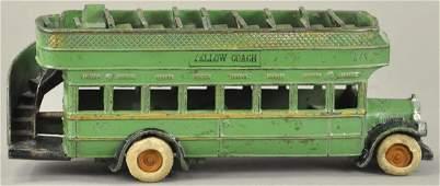 ARCADE YELLOW COACH DOUBLE-DECKER BUS