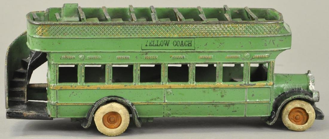 ARCADE YELLOW COACH DOUBLE-DECKER BUS