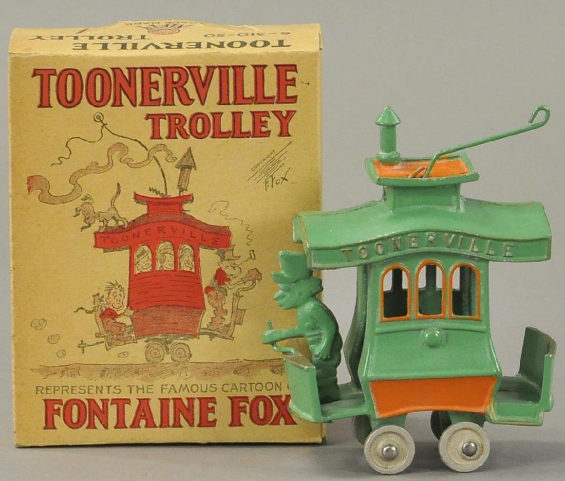 TOONERVILLE TROLLEY WITH ORIGINAL BOX
