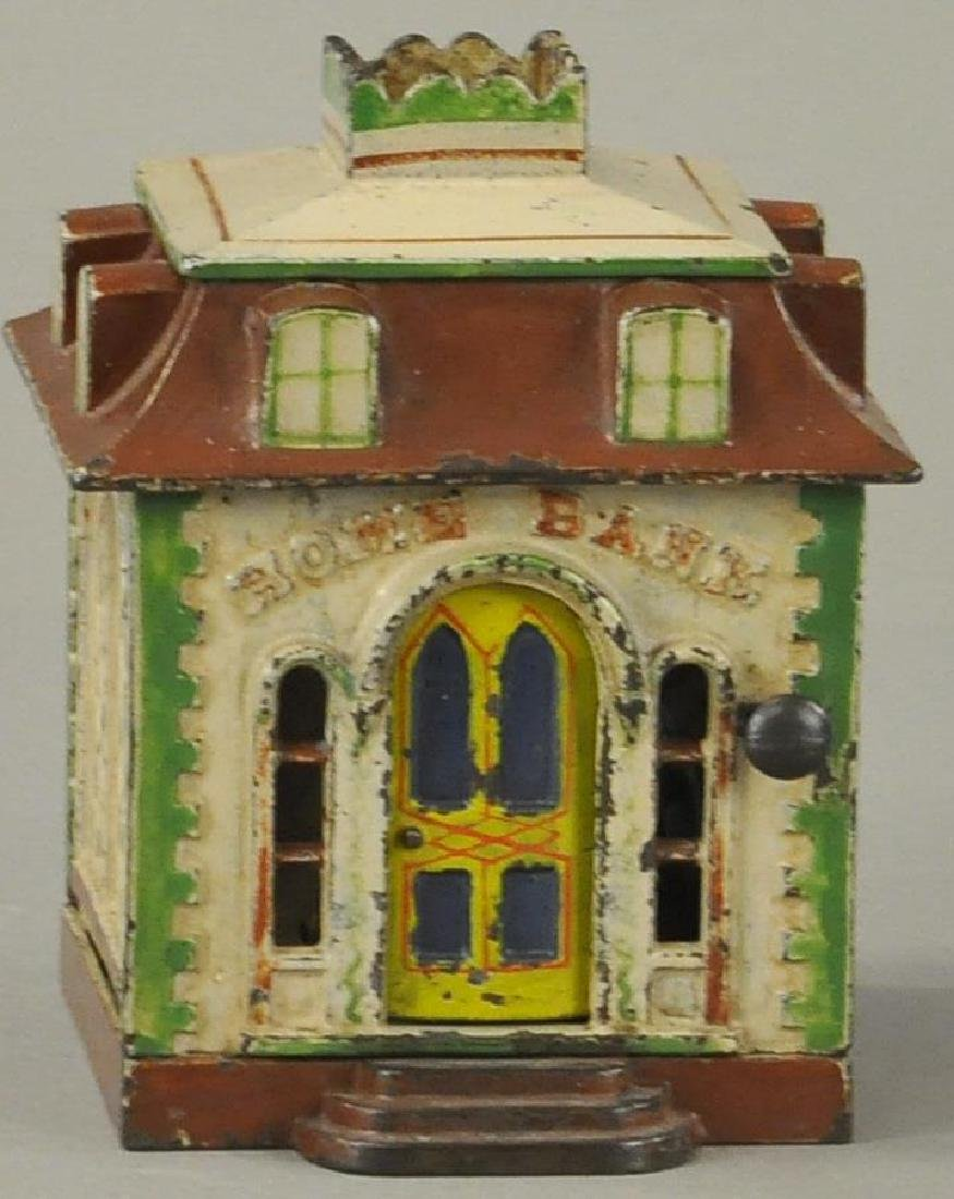 HOME WITH DORMERS MECHANICAL BANK