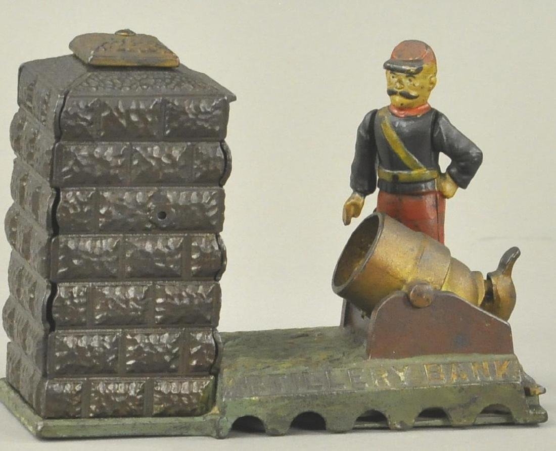 ARTILLERY MECHANICAL BANK - UNION