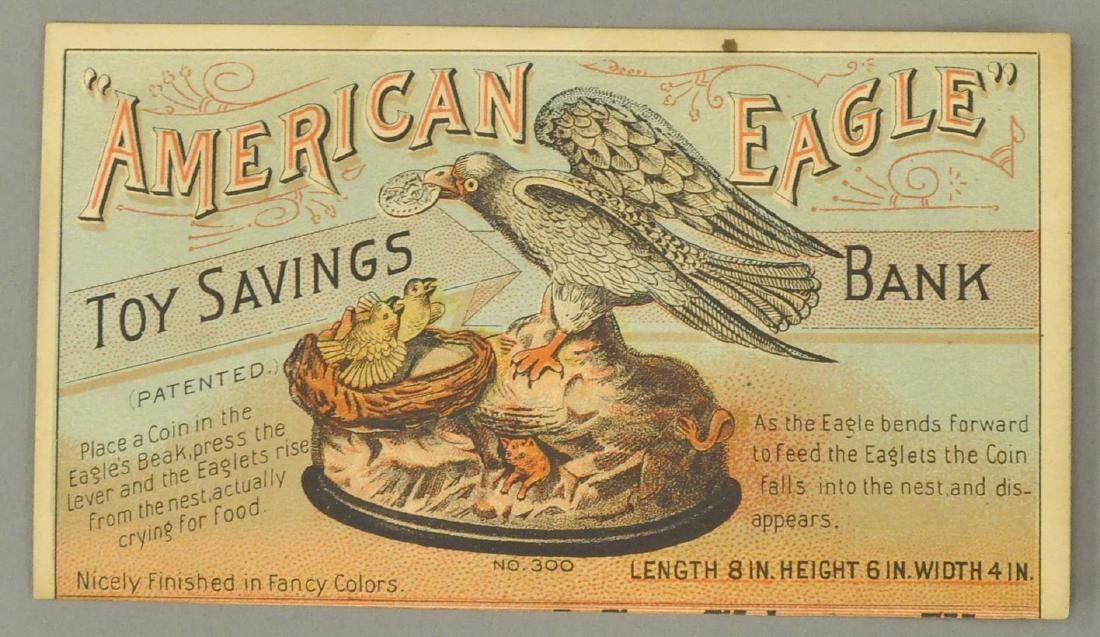 EAGLE BANK TRADING CARD