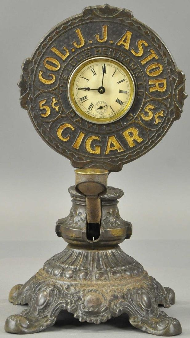 CIGAR CUTTER CLOCK