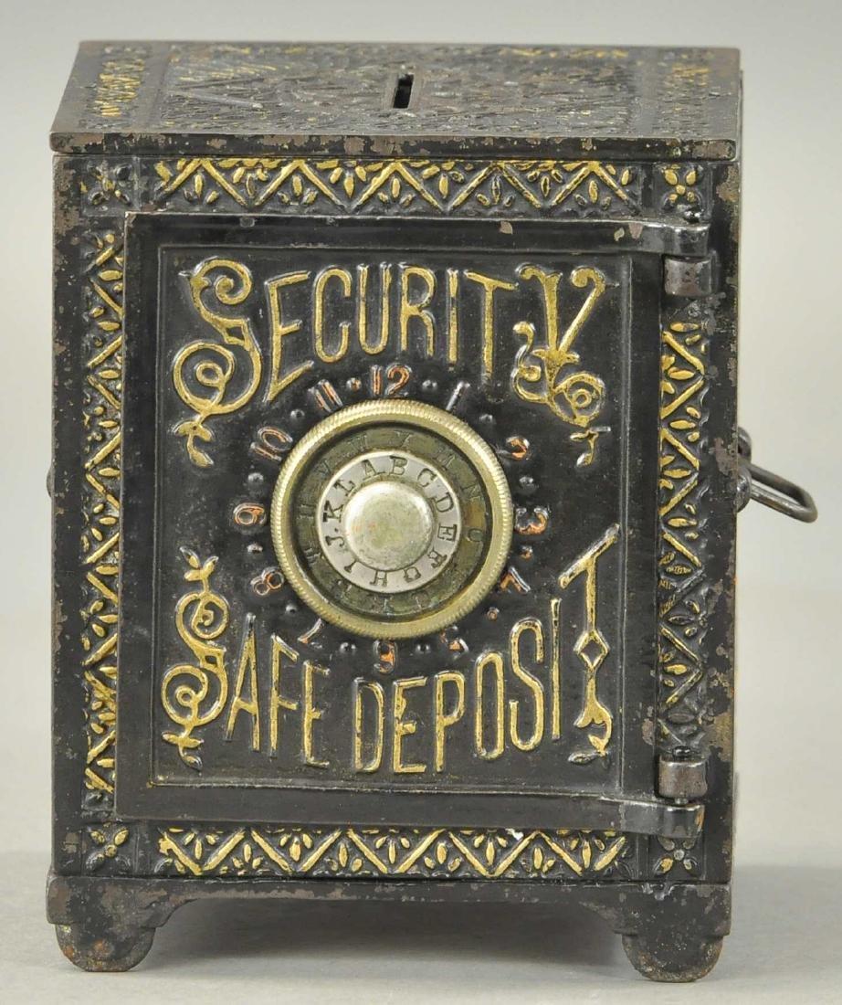 SECURITY SAFE DEPOSIT IRON STILL BANK