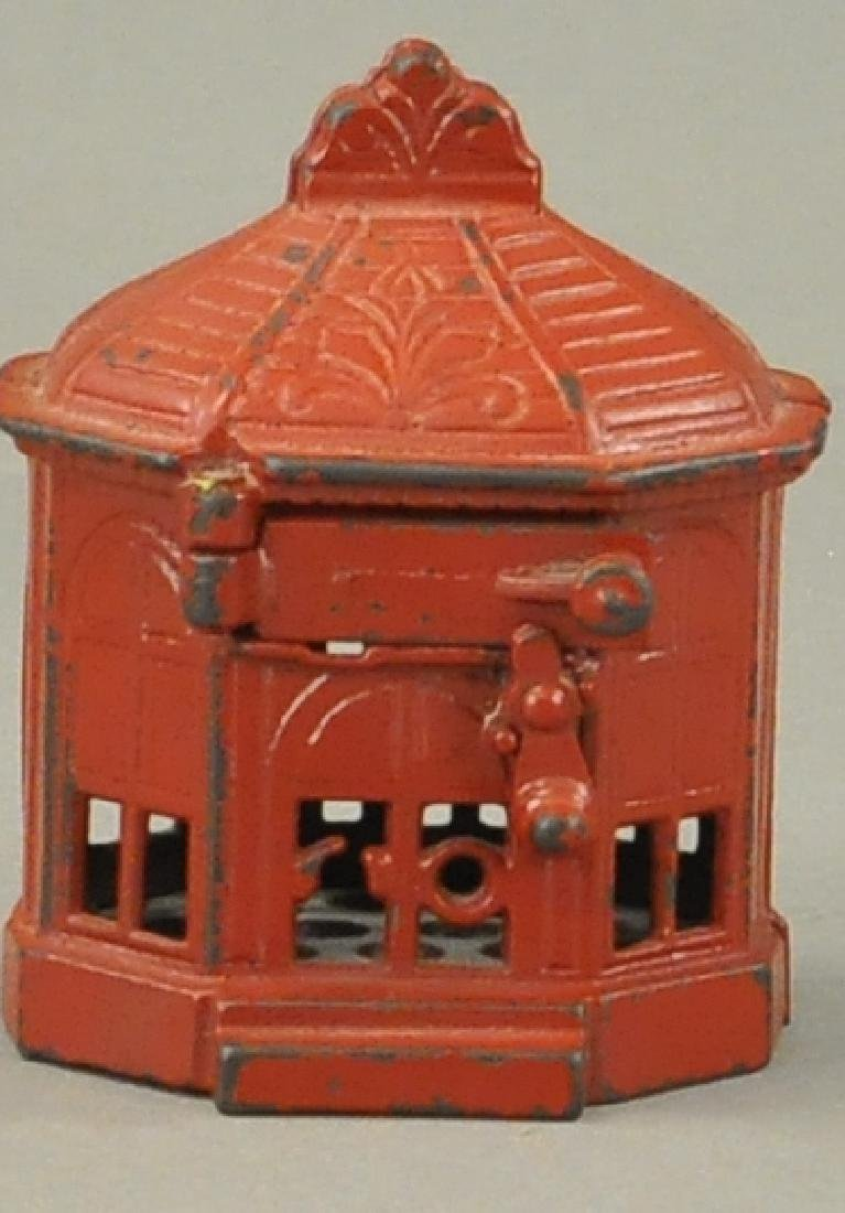SNAP-IT MECHANICAL BANK - RED VARIATION
