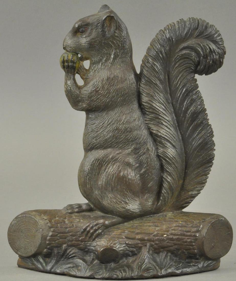 BRADLEY & HUBBARD SQUIRREL DOORSTOP