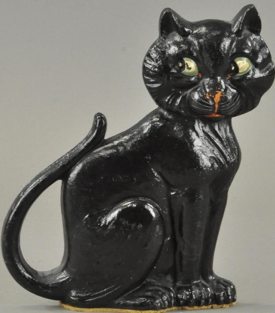 WHIMSICAL CAT DOORSTOP