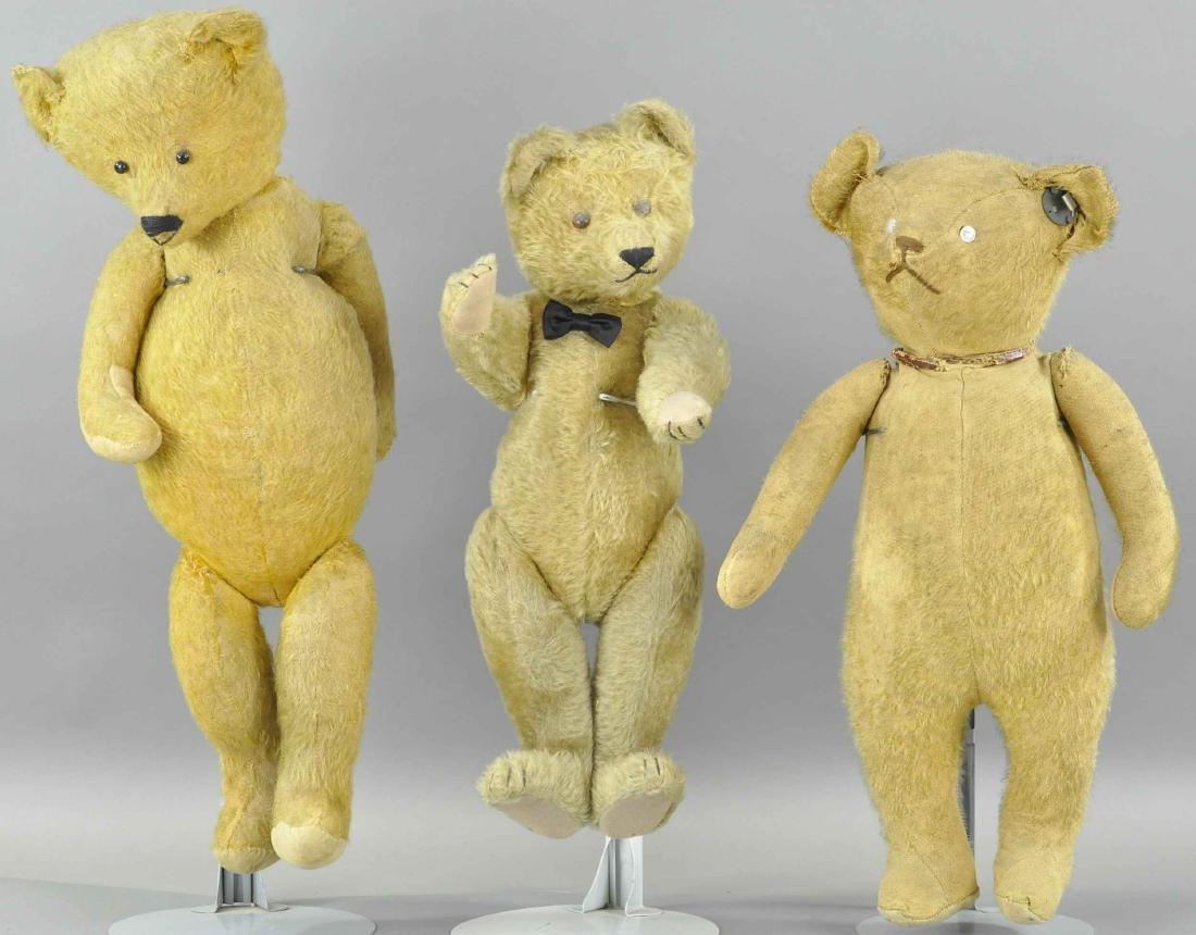 THREE TEDDY BEARS