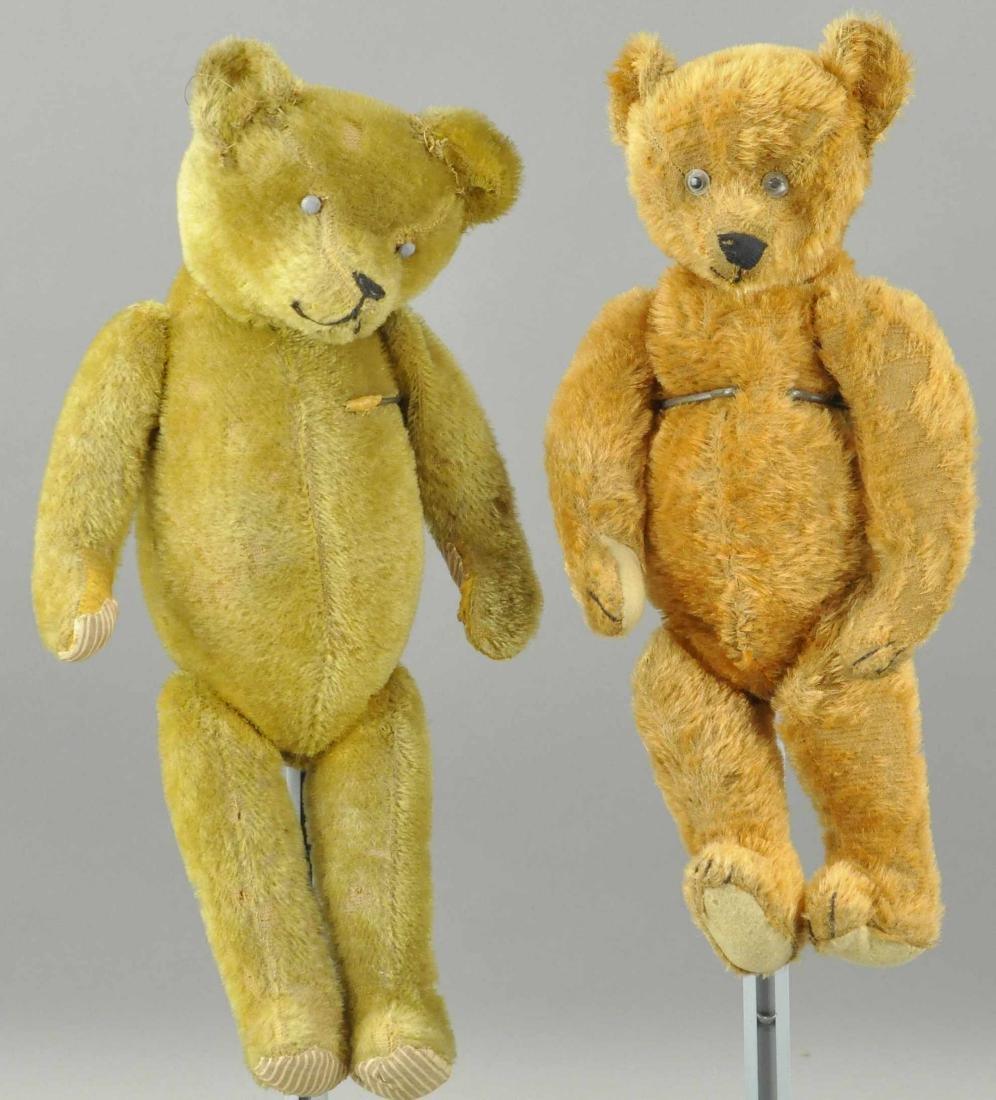 LOT OF TWO TEDDY BEARS
