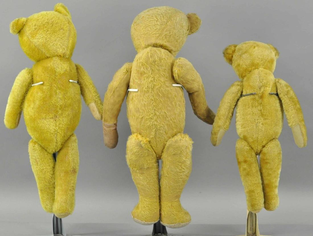 LOT OF THREE TEDDY BEARS - 2