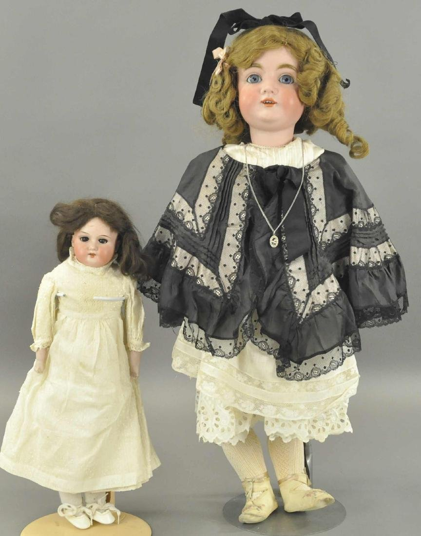 LOT OF TWO GERMAN CHILD DOLLS