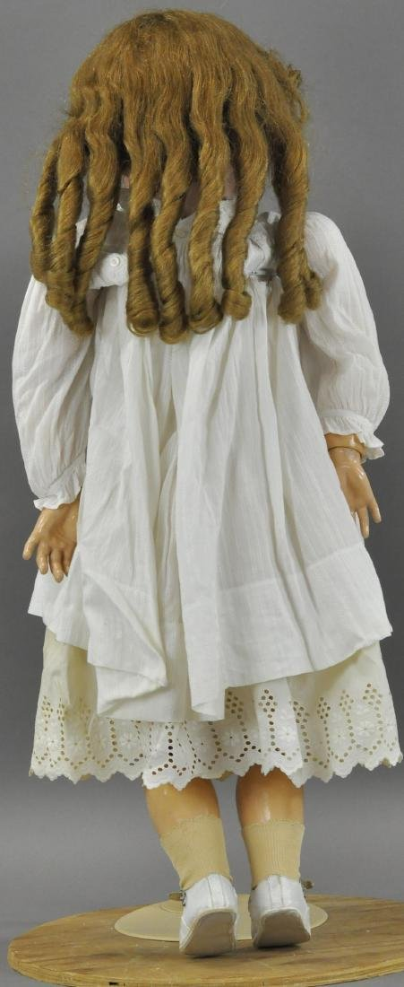 LARGE EARLY 20TH CENTURY FRENCH DOLL - 2