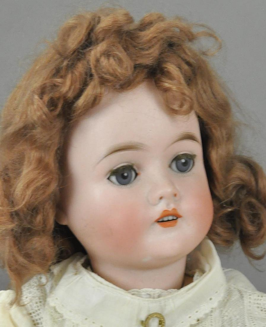 LOT OF TWO GERMAN BISQUE HEAD DOLLS - 4