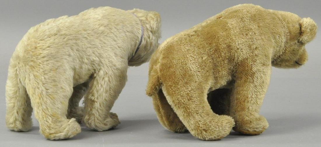 "LOT OF TWO MOHAIR BEARS ""ON ALL FOURS"" - 2"