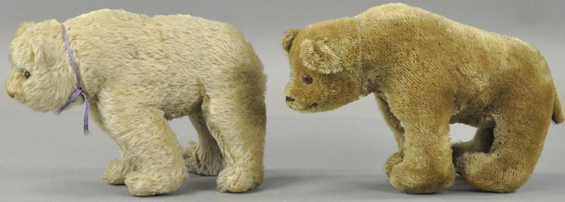 "LOT OF TWO MOHAIR BEARS ""ON ALL FOURS"" - 3"