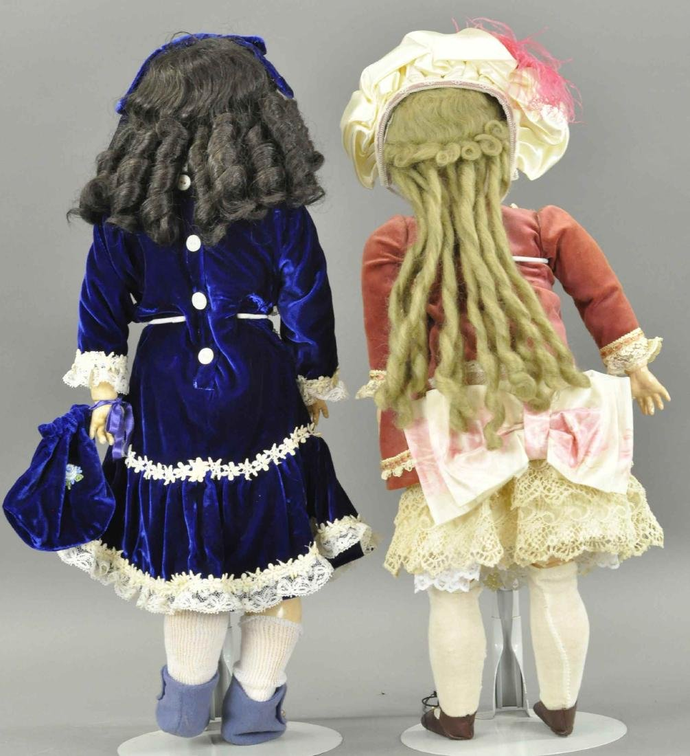 LOT OF TWO GERMAN BISQUE DOLLS - 2