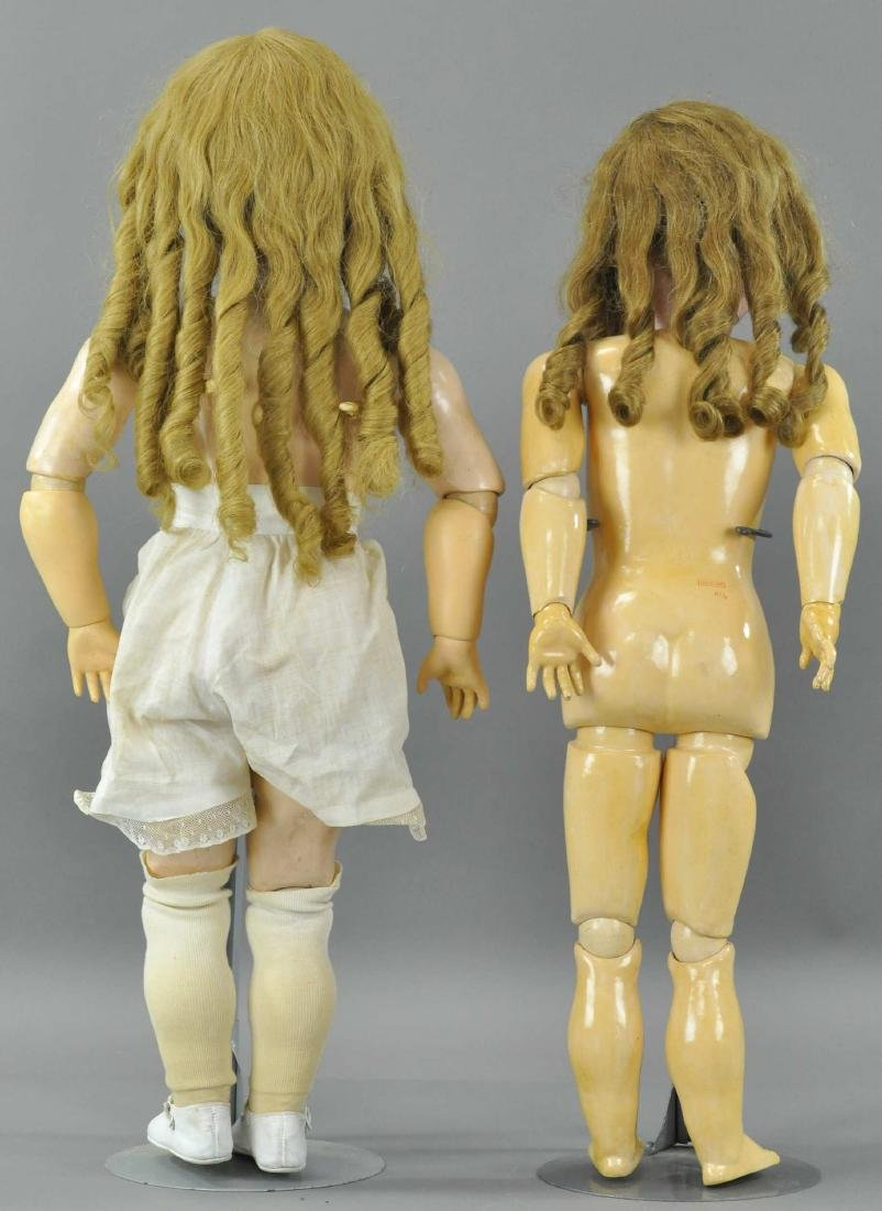 LOT OF TWO LARGE GERMAN CHILD DOLLS - 6