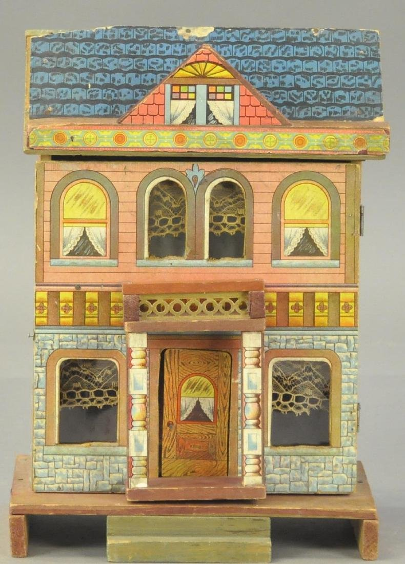 SMALL BLISS TWO-ROOM DOLL HOUSE