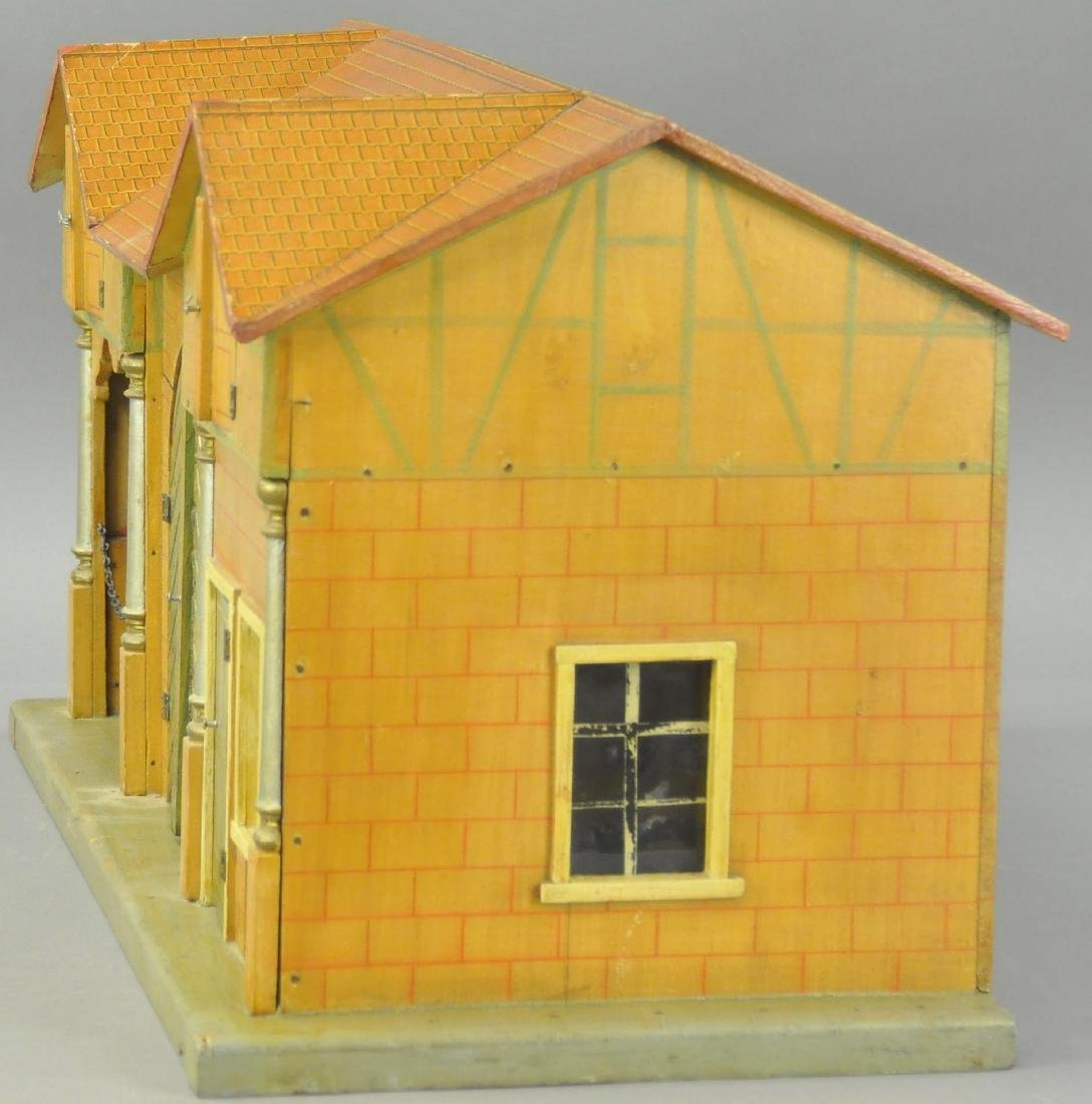 LARGE EARLY WOODEN STABLE - 2