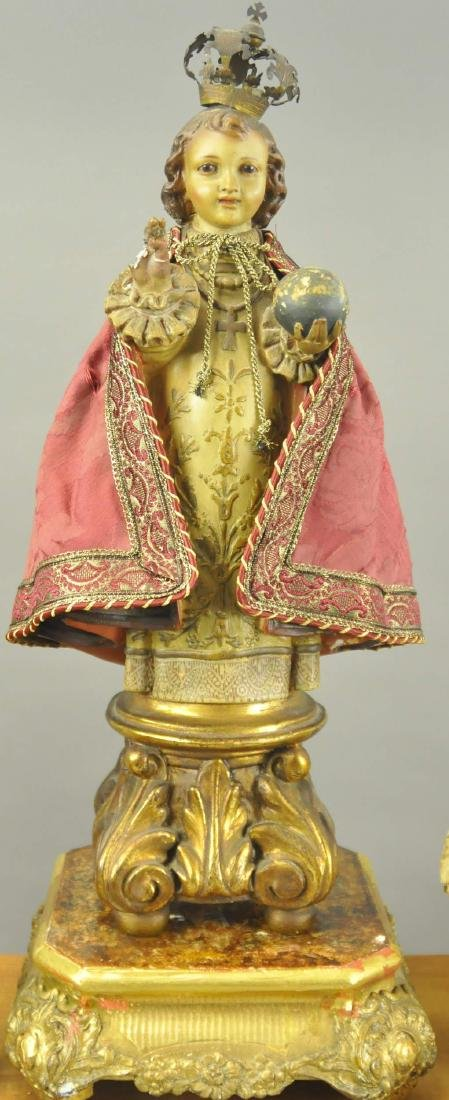 CHRIST CHILD AND NEOPOLITAN FIGURES - 2