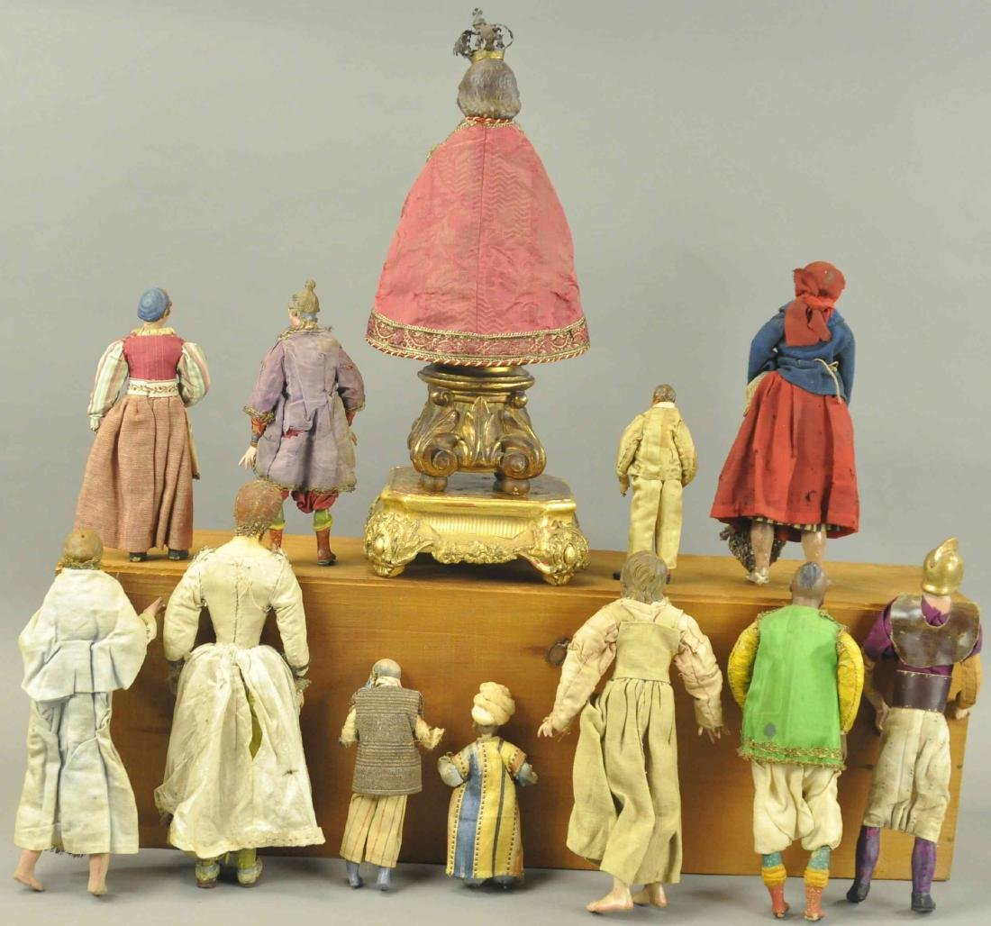 CHRIST CHILD AND NEOPOLITAN FIGURES - 6