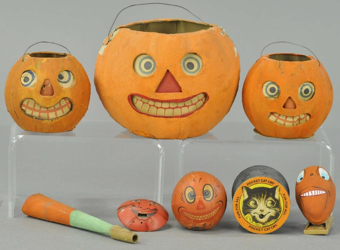 SEVEN EARLY HALLOWEEN ITEMS