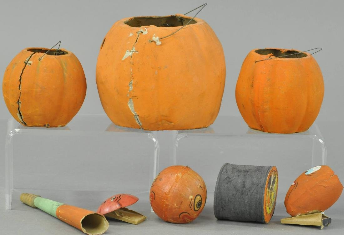 SEVEN EARLY HALLOWEEN ITEMS - 2