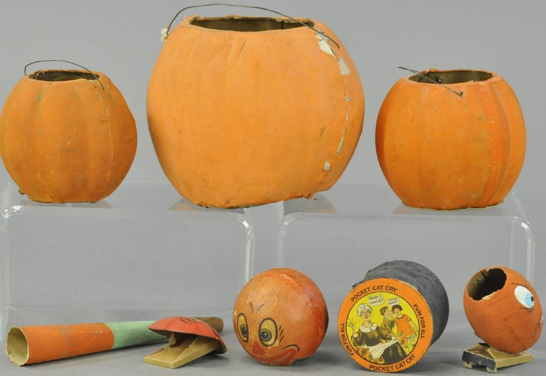 SEVEN EARLY HALLOWEEN ITEMS - 3