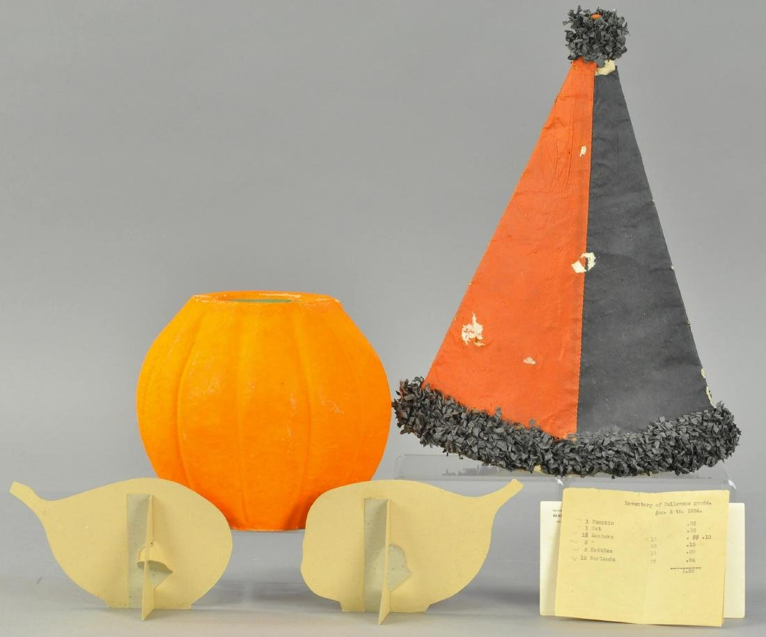 GROUP OF HALLOWEEN SALES STIMULATORS FROM 1936 DIS - 2