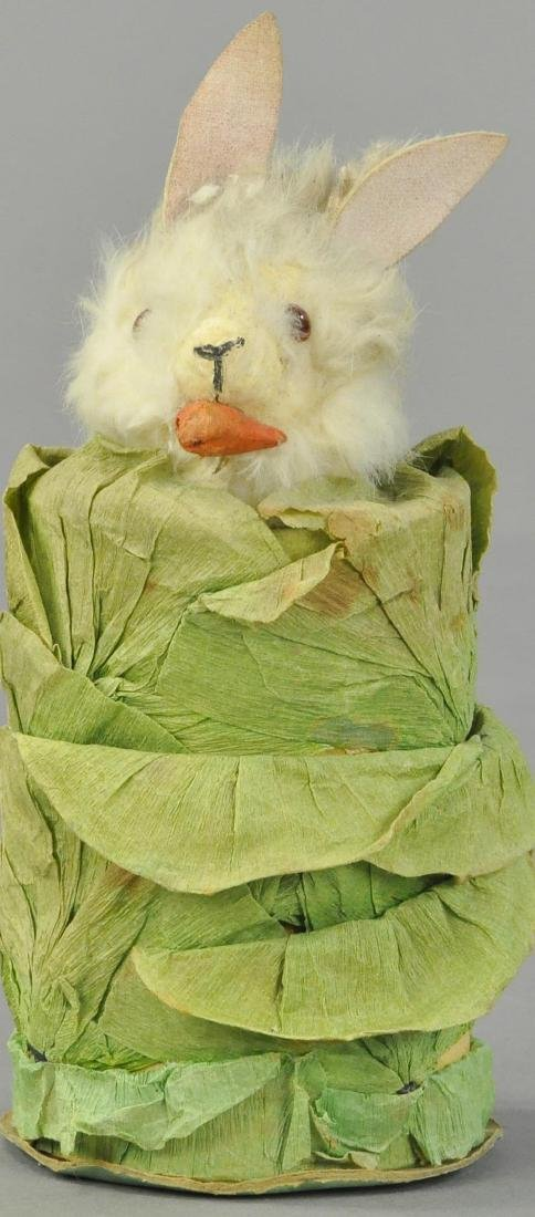 RABBIT IN CABBAGE CANDY CONTAINER
