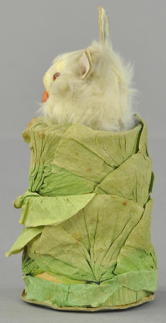 RABBIT IN CABBAGE CANDY CONTAINER - 2