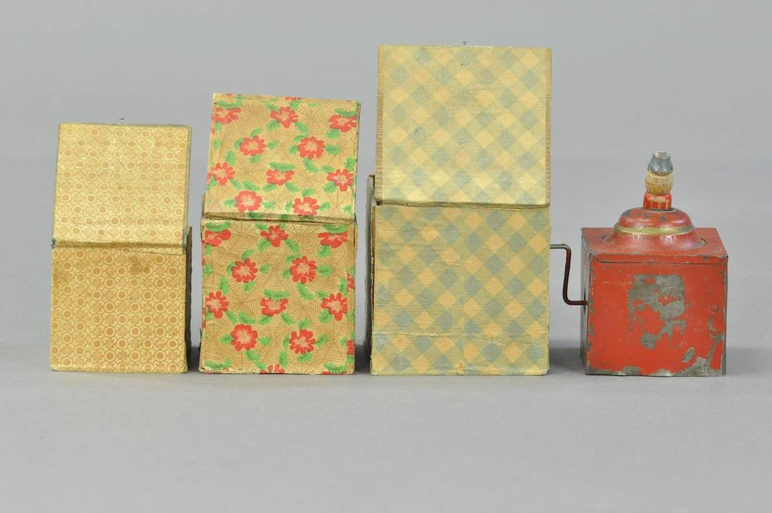 GROUPING OF FOUR JACK-IN-THE-BOX TOYS - 2