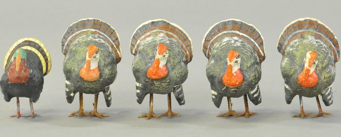 FIVE COMPOSITION GERMAN TURKEYS