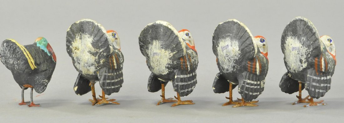 FIVE COMPOSITION GERMAN TURKEYS - 2