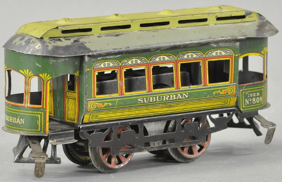 IVES NO. 809 ELECTRIC SUBURBAN TROLLEY