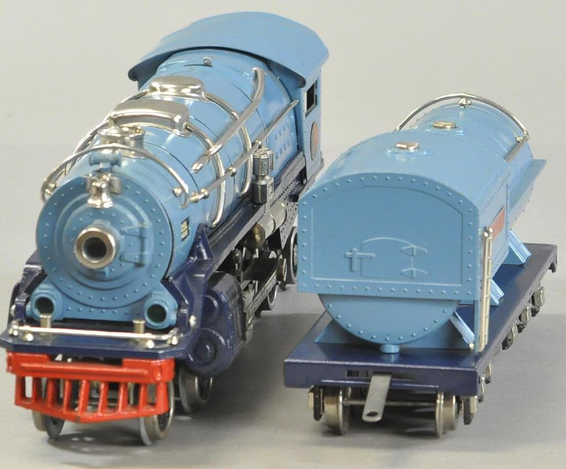 LIONEL 400E BLUE COMET LOCOMOTIVE - 3