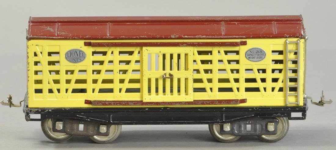LIONEL NO.213 CATTLE CAR